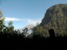 wonderful scene...hills, cloud, and blue sky