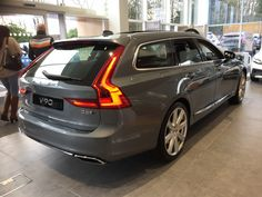 Volvo V90 - its as nice in the flesh as it is in the pictures. I want one!