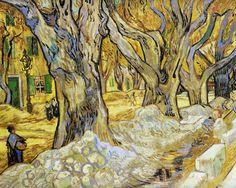 Large Plane Trees, Vincent Willem van Gogh