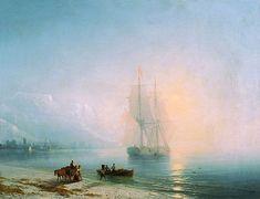 Спокойное море - 1863 год. Айвазовский Иван Константинович