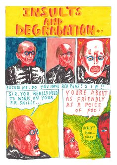 This Illustrator's Comics Are Made in Honor of His YouthEye on Design   Eye on Design