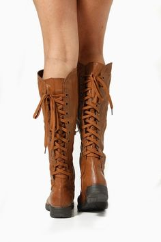 Wonderful New Women39s Knee High Lace Up Buckle Combat Military Boots Timberly65