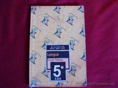 Libro de texto Lengua (Anaya)