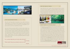 Free Travel Brochure Templates  Graphic Design
