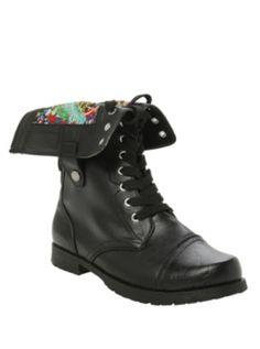 Marvel Comic Combat Boot