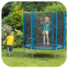 The Plum 6ft Trampoline and Enclosure is a fantastic colourful trampoline for…