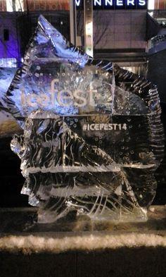 Bloor-Yorkville Ice Fest, Feb. 22, 2014. Read more!: http://www.thepurplescarf.ca/2014/02/Event-Explore.Ice-Fest2014.The-Beauty-Of-Ice.html #Toronto