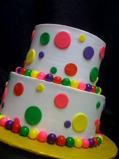 Gumball cake 2012
