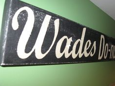 sign from old wood using Cricut