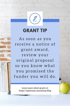 Keep your funders happy: 5 simple steps to take after you win a grant Grant Proposal Writing, Grant Writing, Nonprofit Fundraising, You Promised, Youth Ministry, Business Class, Non Profit, Knowing You, Improve Yourself