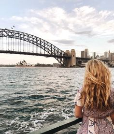 The Sydney Harbour Bridge and Sydney Opera House, Australia