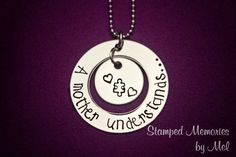 A mother understands  Autism Awareness  by StampedMemoriesbyMel, $37.50
