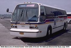 #205 Bee-Line of Westchester 1978 GMC RTS-03 TH-7603