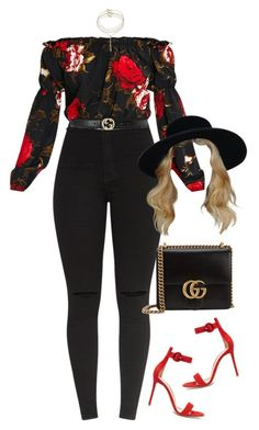 A fashion look from June 2017 featuring cut-out crop tops, high waisted stretch jeans and strappy high heel sandals. Browse and shop related looks. Cute Casual Outfits, Swag Outfits, Mode Outfits, Stylish Outfits, Fall Outfits, Summer Outfits, Girly Outfits, Look Fashion, Teen Fashion