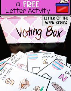 Letter Games, Letter V, Election Votes, Letters For Kids, Letter Of The Week, Alphabet Activities, Super Mom, Kindergarten, Preschool