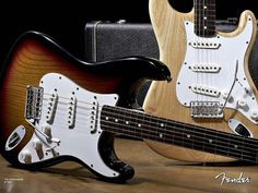 Fender Stratocaster,  rock history played on it.