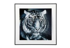 Tiger face picture - Pictures - Living Room Storage | Bookcases | Furniture Village