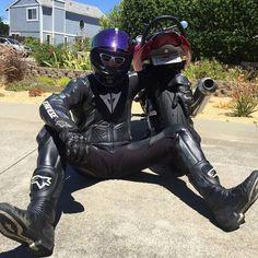 Motorcycle Suit, Motorcycle Leather, Leather Men, Leather Boots, Bike Leathers, Monty Python, Motocross, Black Men, Biker