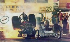 Don Garlits at Lions the shoot heard around the world