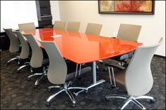 Pre-Owned Conference Room Tables and furniture by JCS in Houston, Texas