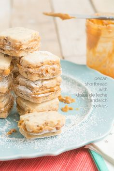 Pecan Shortbread wit