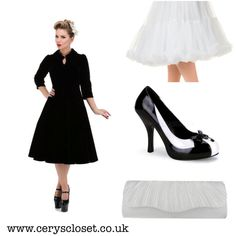 A fantastical array of black and white today! I love these shoes. Inspired by #wednesday #wednesdayaddams these gorgeous tuxedo shoes r to die for! This whole outfit for under £135.00 www.ceryscloset.co.uk #bag #ceryscloset #retro #lbd #velvet #velvetdress #blackvelvet #vintage #1950s #1950sfashion #50s #pinup #pinupdoll #pinupdress #pinupstyle #rocknroll #rockabilly #petticoat #handbag #clutchbag #littleblackdress #ootd