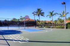 Half Basketball court www.palmsofdoral.com