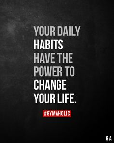 daily habits have the power to change your life. -Your daily habits have the power to change your life. - I say walk like a king! Daily Motivational Quotes, Positive Quotes, Inspirational Quotes, Healthy Dinner Recipes For Weight Loss, Quotes To Live By, Me Quotes, Habit Quotes, Loss Quotes, Qoutes
