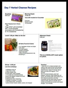 Day 7: 10 Day Cleanse Recipes
