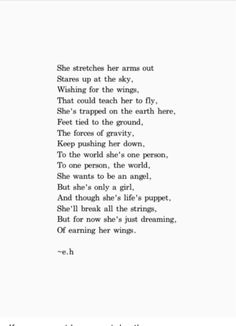 Be the poem