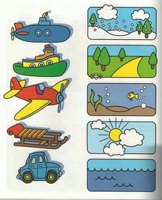 This page has a lot of free printable Transportation worksheet for kids,parents and preschool teachers. Preschool Learning Activities, Preschool Worksheets, Toddler Preschool, Preschool Activities, Teaching Kids, Alphabet Worksheets, Toddler Worksheets, Teaching Spanish, Transportation Theme Preschool
