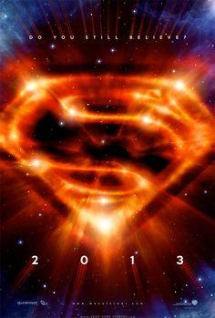 Superman Movie Poster - 2013