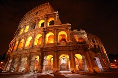 (Flickr | photographerglen)1.) The ColosseumAnd, of course, The Colosseum. Although it looks nothing like it once did, the power of seeing a place like this is awesome. It would be interesting to be able to relive the days of mock sea battles and dramas based on Classical mythology. After its ...