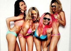 James Franco: 'Spring Breakers' Casting 'Was Perfect' Spring Breakers co-stars Selena Gomez, Ashley Benson, Rachel Korine, and Vanessa Hudgens pose in their bikinis for a feature in Interview's May issue. James Franco, James 5, Ashley Benson, Spring Break Movie, Spring Break 2015, Vanessa Hudgens, High School Musical, Rita Ora, Cara Delevingne