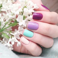 #Pink #Mani #Nails #Uñas