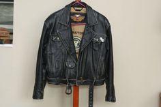 Vintage Harley Davidson Jacket Ladies Large by suesuegonzalas 5a862d7a0