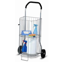 honey can do 2tier allpurpose rolling utility cart