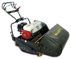 Allett C-Range Professional Reel Mower for landscapers and sports field managers. British made.