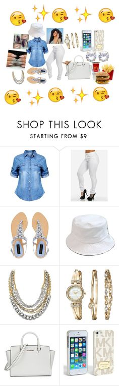 """""""Untitled #501"""" by skittlesforever123 ❤ liked on Polyvore featuring Forever New, Dyrberg/Kern, Anne Klein, Michael Kors and MICHAEL Michael Kors"""
