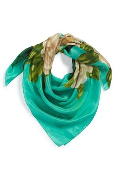 Echo 'Grand Flora' Silk Scarf available at #Nordstrom