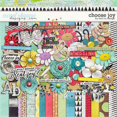 CHOOSE HAPPY by Red Ivy Design 20% off @ Sweet Shoppe Designs
