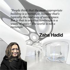 Zaha Hadid -  Pinned by www.modlar.com