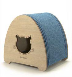 CAPELINHA Cat bed, cat cave and scratcher