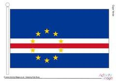 Flags of Africa - Large Printable Flags - Cape Verde