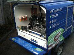 Piaggio Ape Coffee Conversion.