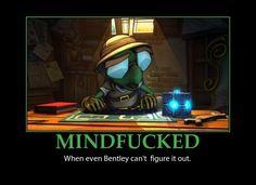 Sly Cooper, Mindfucked,Bentley by DaPawsome.deviantart.com on @deviantART