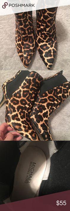 Michael Kors booties Leopard michael kors booties Michael Kors Shoes Ankle Boots & Booties