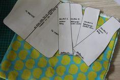 ruelliswelt: Von mir für euch - Anleitung Sitzkissen und Rückenkissen für einen Kinderhochstuhl