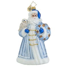 Christopher Radko Ornaments | Radko Father Rime Santa Ornament 1018328