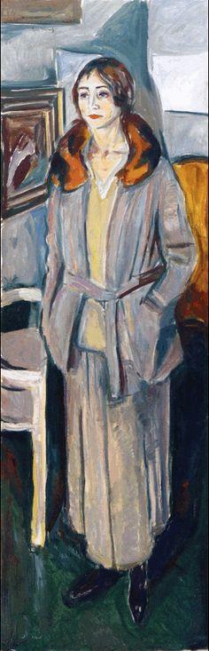 Woman in Grey 1925. Edward Munch (1863-1944)